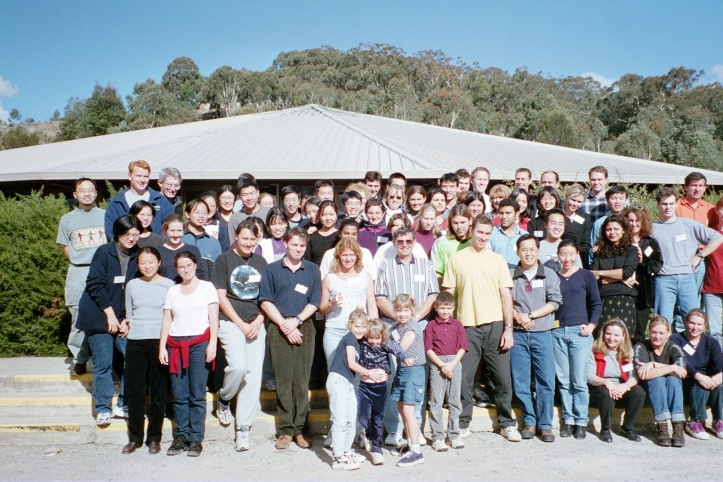 1. First IMPACT Group Photo 2000 April Canberra